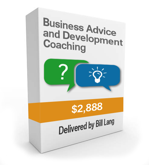 Business Advice and Development Coaching product box